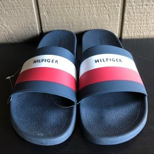 Tommy Hilfiger Men's Sandals EARTHY Blue/Red